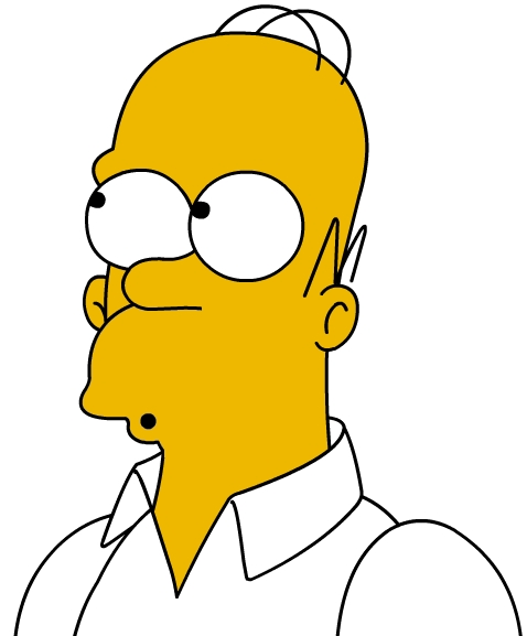 This Is What Homer Looks Like With An Actual Beard And Not A 5 O Clock Shadow